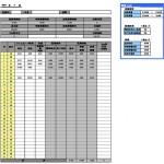 時給計算エクセルテンプレート |勤怠管理表